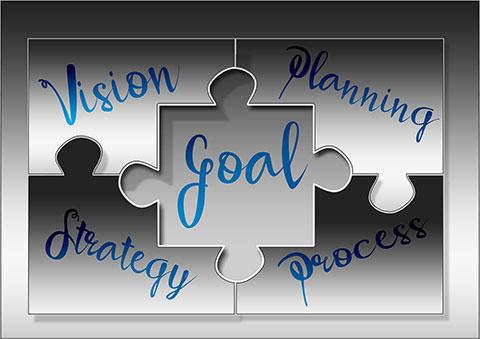 Bild von Gerd Altmann auf Pixabay, zeigt symbolisches Puzzle für gemeinsame Projektplanung