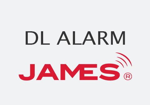 Schriftzug DL Alarm