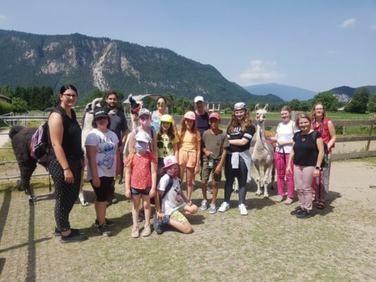 Gruppenfoto Lamawanderung